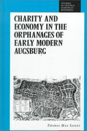 Charity and Economy in the Orphanages of Early Modern Augsburg (Studies in German Histories)
