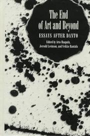 Cover of: The end of art and beyond