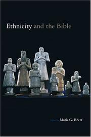 Cover of: Ethnicity and the Bible |