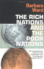 Cover of: Rich Nations and Poor Nations