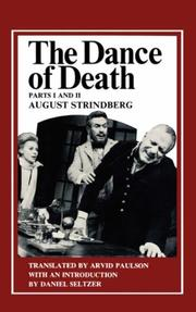 The dance of death by August Strindberg