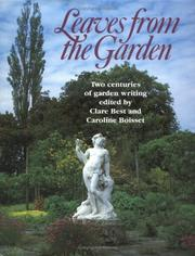 Cover of: Leaves from the garden |