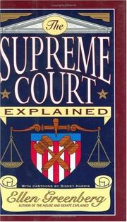 Cover of: The Supreme Court explained