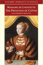 Cover of: The Princesse de Cleves (Oxford World's Classics (Oxford University Press).)