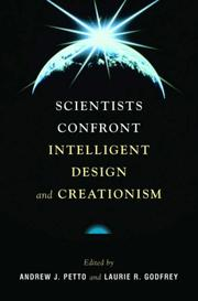 Cover of: Scientists Confront Intelligent Design and Creationism |
