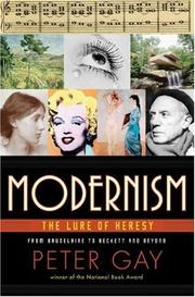 Cover of: Modernism | Peter Gay