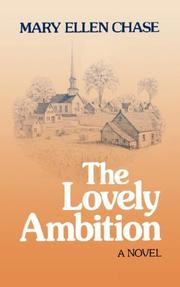 Cover of: The lovely ambition