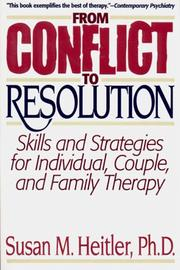Cover of: From conflict to resolution
