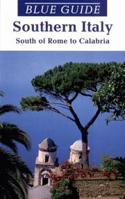 Cover of: Blue Guide Southern Italy | Paul Blanchard