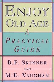 Cover of: Enjoy old age
