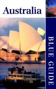 Cover of: Blue Guide Australia | Erika Esau