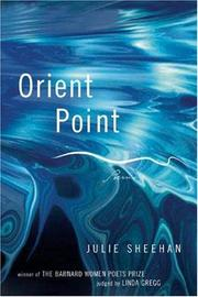 Cover of: Orient Point | Julie Sheehan