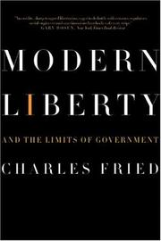 Cover of: Modern Liberty