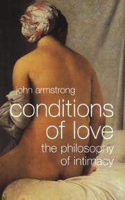 Cover of: Conditions of Love | John Armstrong