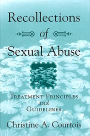 Cover of: Recollections of sexual abuse