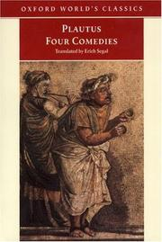Cover of: Four comedies