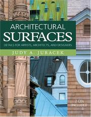 Cover of: Architectural surfaces