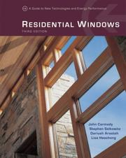 Cover of: Residential Windows | John Carmody