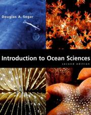 Cover of: Introduction to Ocean Sciences, Second Edition | Douglas A. Segar