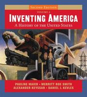 Cover of: Inventing America, Vol. 2 (Second Edition) | Pauline Maier