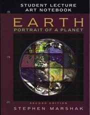 Cover of: Earth: Portrait of a Planet, Second Edition | Stephen Marshak