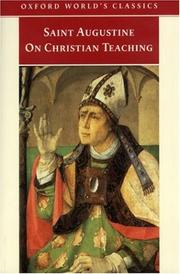 De doctrina Christiana by Augustine of Hippo
