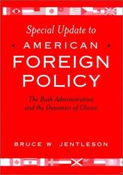 Cover of: Special Update to American Foreign Policy