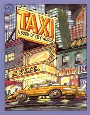 Cover of: Taxi