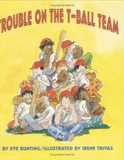 Cover of: Trouble on the T-Ball Team