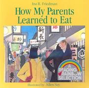 Cover of: How My Parents Learned to Eat (Carry Along)