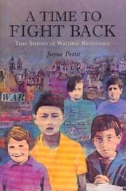 Cover of: A time to fight back