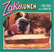 Cover of: Zak's Lunch