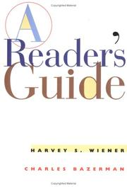 Cover of: A reader