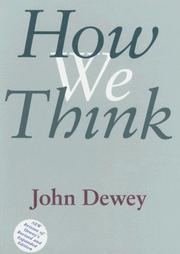 Cover of: How we think | John Dewey