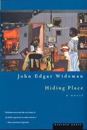 Cover of: Hiding place | John Edgar Wideman