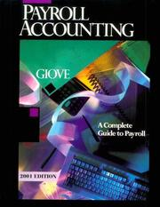 Cover of: Payroll accounting