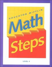 Cover of: Math Steps