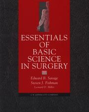 Cover of: Essentials of basic science in surgery |