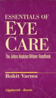Essentials of Eye Care