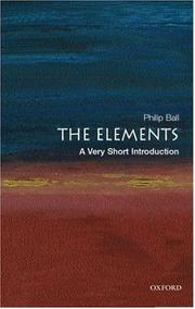 Cover of: The Elements | Philip Ball