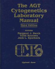 Cover of: The AGT cytogenetics laboratory manual. by