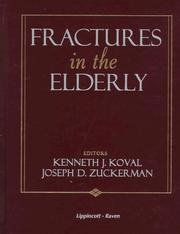 Cover of: Fractures in the elderly