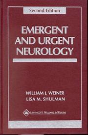 Cover of: Emergent and urgent neurology |
