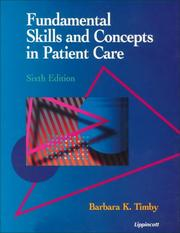 Cover of: Fundamental skills and concepts in patient care