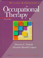 Cover of: Willard and Spackman's occupational therapy