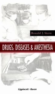Cover of: Drugs, diseases, and anesthesia