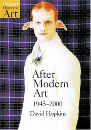 Cover of: After Modern Art 1945-2000 (Oxford History of Art)