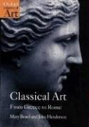 Cover of: Classical art