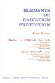Cover of: Elements of radiation protection
