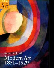 Cover of: Modern art, 1851-1929